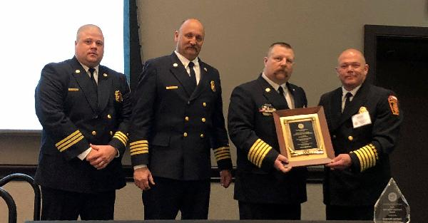 Melissa Fire Department Presented Best Practices Recognition TFCA 2019
