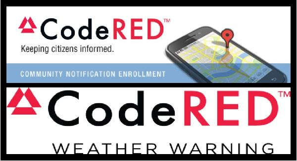 CodeRED and CodeRED Weather Warning